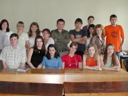 Соціальна робота 1 курс 2003
